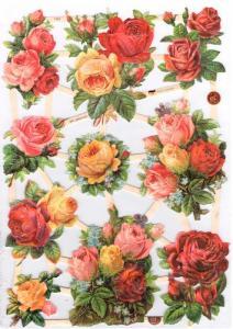 Bokmärken glitter blommor_3