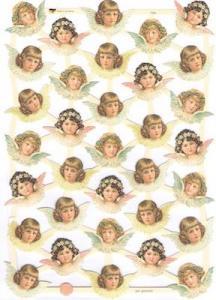 Bokmärken änglar retro11