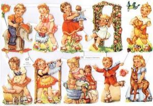 Bokmärken barn retro3