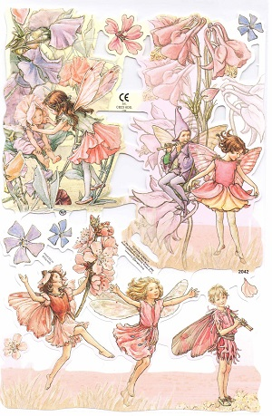Bokmärken älvor blomälvor 22