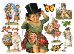 Bokmärken Barn 120 retro