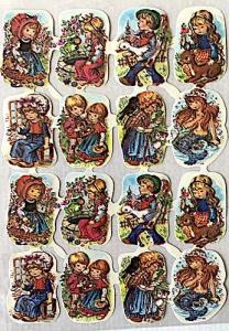 Bokmärken flickor pojkar sagor retro 60-70-tal