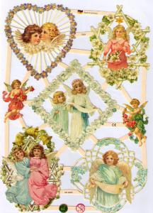 Bokmärken änglar 12