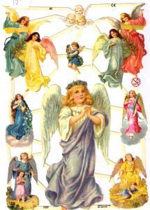 Bokmärken änglar 5