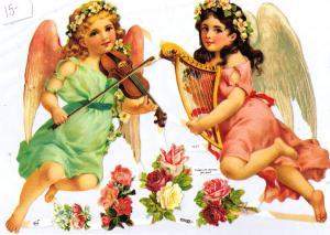 Bokmärken änglar 6