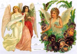 Bokmärken änglar 8