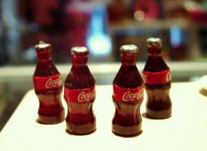 4 st Coca Cola flaskor