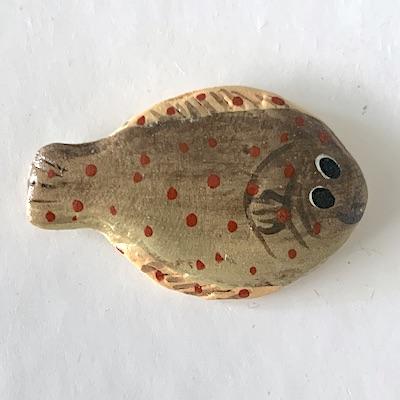 Rödspätta plattfisk fisk