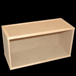 Rum room box stort tittskåp 59x30x25