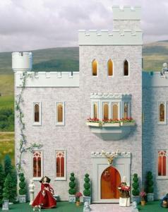 Cumberland Castle dockhus som är ett slott!