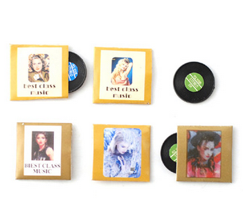 5 st LP-skivor