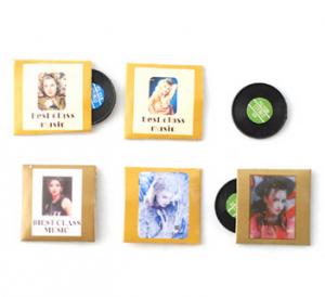 5 st LP-skivor stenkakor