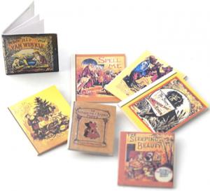 7 st Barnböcker miniatyr
