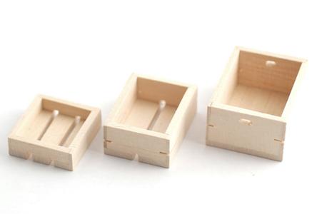 3 st lådor
