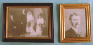 2 st fotografier gammeldags