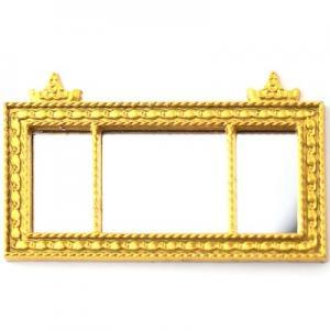 Spegel, väggspegel guld