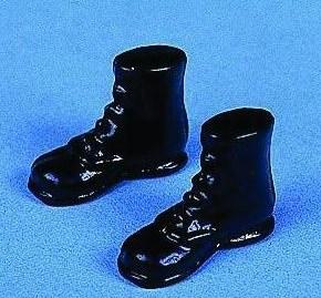 Kängor svarta skor
