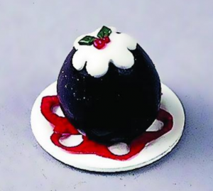 Bakverk christmas pudding