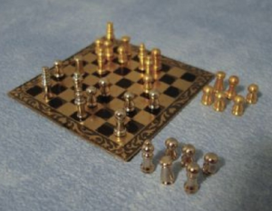 Schack med pjäser