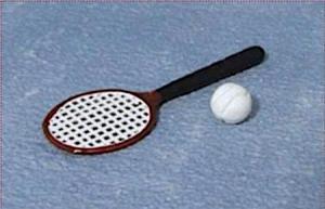 Tennisrack o boll