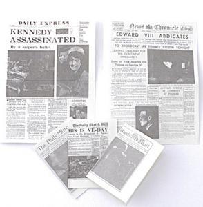5 st tidningar