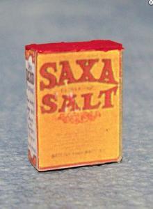 1 st Saxa Salt förpackning