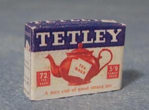 Te Tetley gammeldags teförpackning