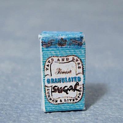 Socker förpackning mat