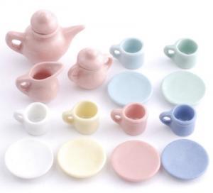 17 delar servis teservis pastell