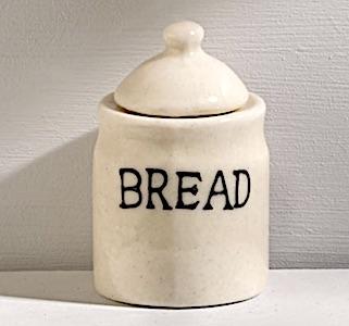 Brödburk porslin