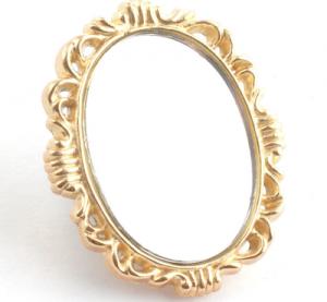 Spegel oval