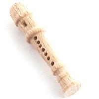 Blockflöjt flöjt i trä