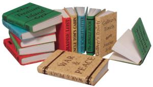 12 st Böcker i set klassiker