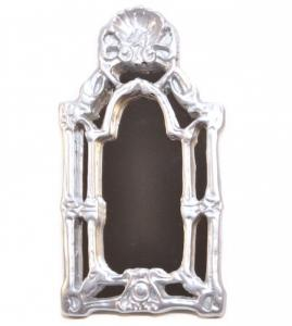 Spegel silverram