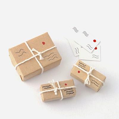 Brev och paket post