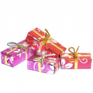 Julklappar paket presenter