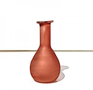 Flaska glas karaff rose
