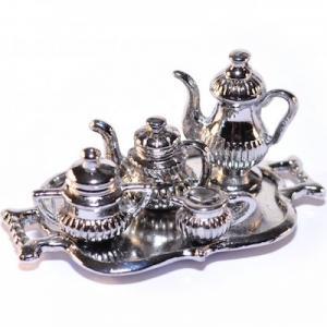 Servis Te-servis kaffe-servis i silver 5 delar