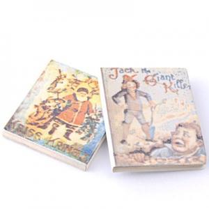 2 st barnböcker miniatyr