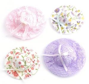 4 st hattar olika mönster