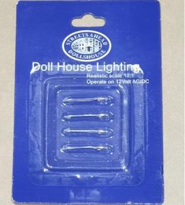4 st Lampor reserv bi-pin spare bulbs
