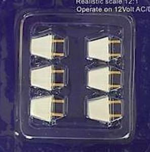 6 st kontakter plugs