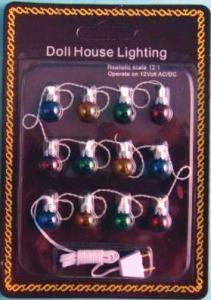 """Julgransbelysning alt """"utebelysning"""" dockhuset lampor i olika färg  EL"""