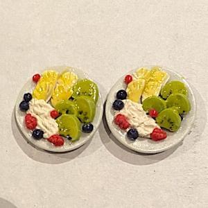 2 st dessert fruktsallad