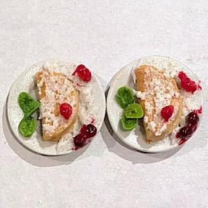 2 st dessert pannkakor
