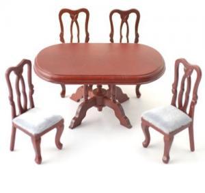 Matsalsbord 4 stolar matsalsgrupp