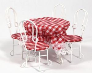 4 stolar 1 bord Caféset
