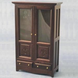 Garderob mahogny