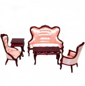 5 delar Soffa bord fåtöljer Regency