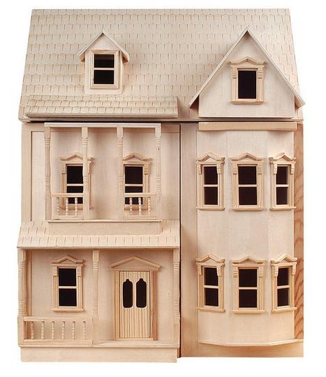 Ashburton dockhus, omålat